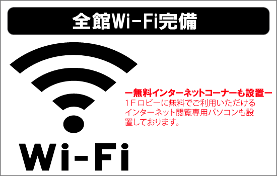 WiFiバナー